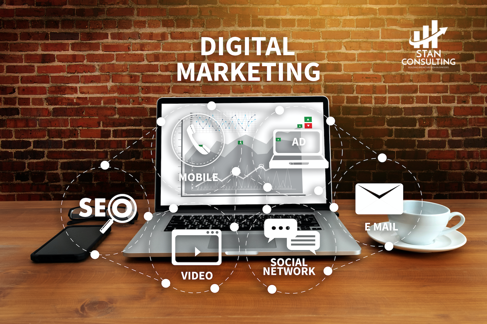 SEO services from leading full service digital marketing agency Stan Consulting www.stanconsultingllc.com