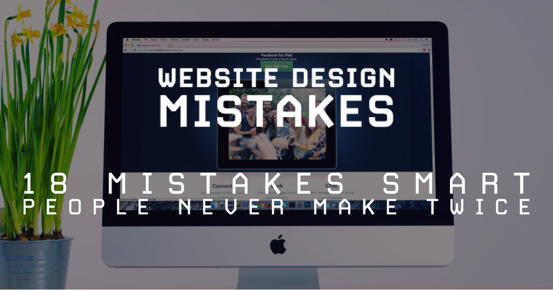 most common website mistakes