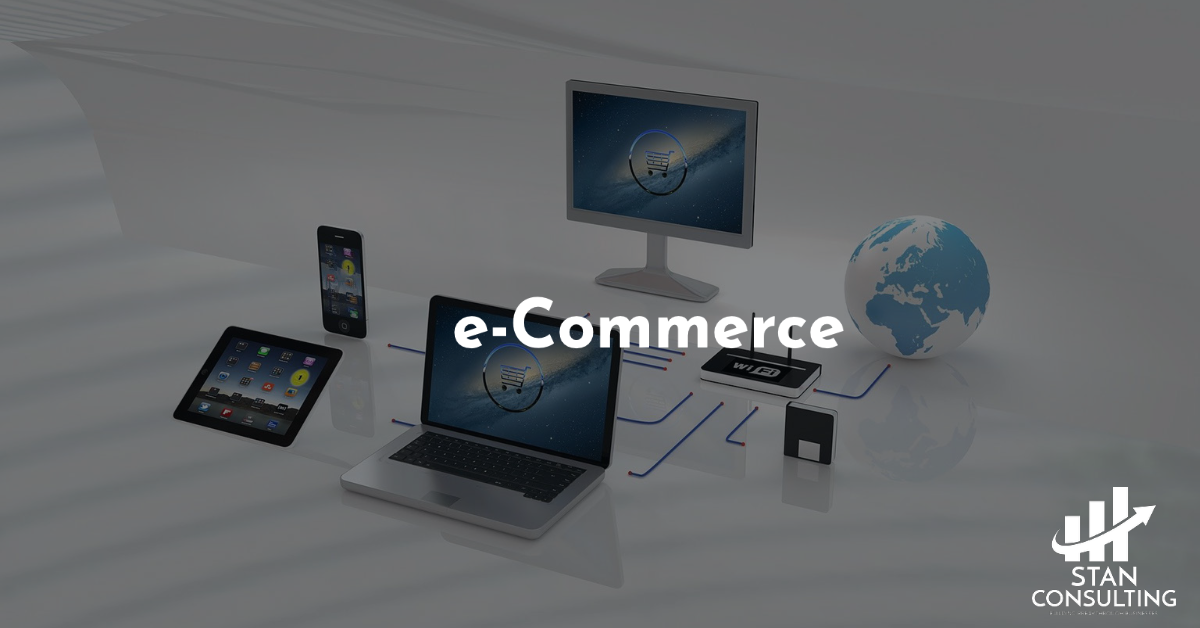 ecommerce with stan cosulting shopify, wix, woocommerce and amazon